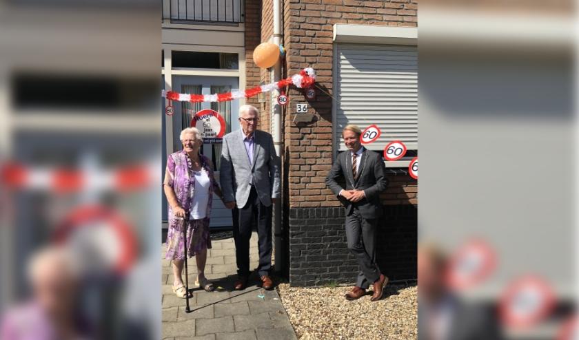 Dhr en Mevr Sies - Koene en de burgemeester van Culemborg