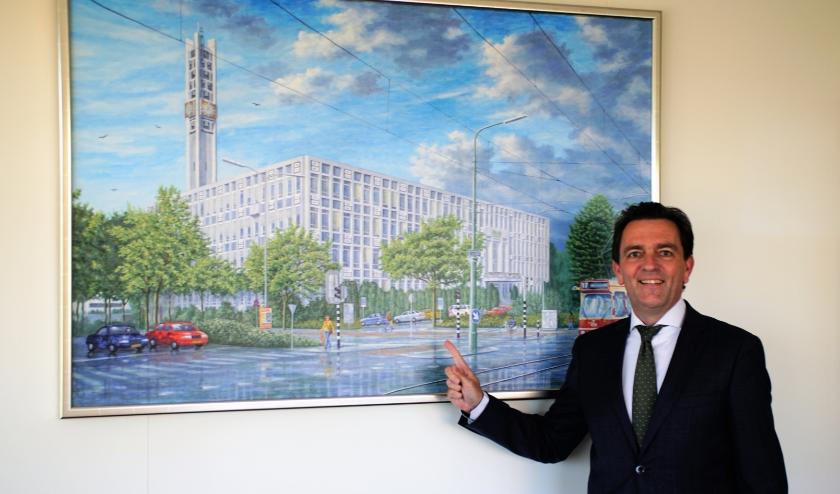 Burgemeester Michel Bezuijen verruilt Rijswijk binnenkort voor Zoetermeer. Foto: Robbert Roos