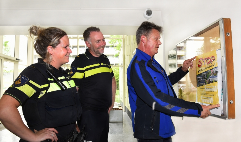 Vlnr Janneke Rensink, Bart Ruesink en Erik Nibbing. (foto: Roel Kleinpenning)