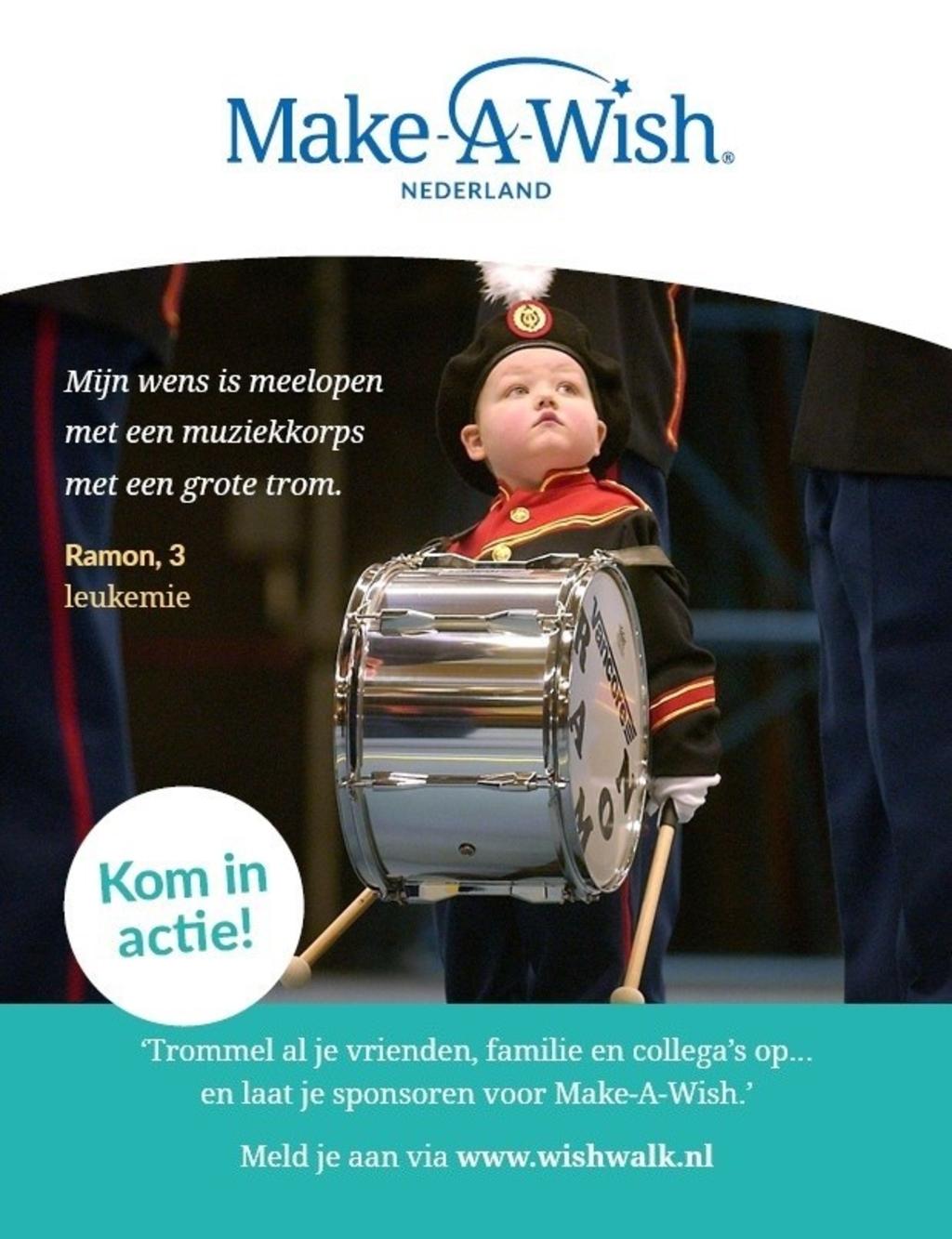 Foto: Make-A-Wish Nederland © DPG Media