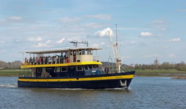 De Blauwe Bever vaart vanaf 4 juli weer op Rijn en Lek Foto: Stichting Rijnoevervaarten © DPG Media