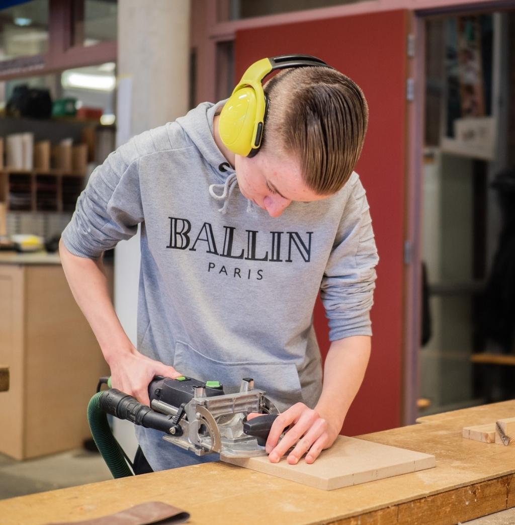 Aanmelden voor de mbo-opleiding Timmeren op het Nuborgh College is nog steeds mogelijk.