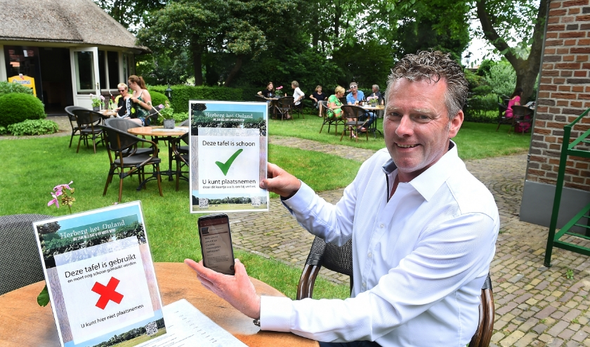 Wilfried Nijenhuis van Het Onland. (foto: Roel Kleinpenning)