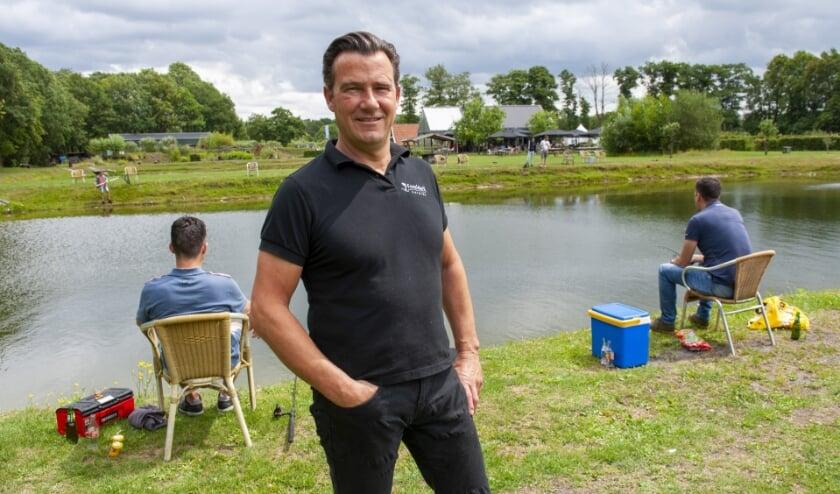 Bedrijfsleider Remco Oostrik van brasserie Forelderij. (Foto: Robert Hoetink)