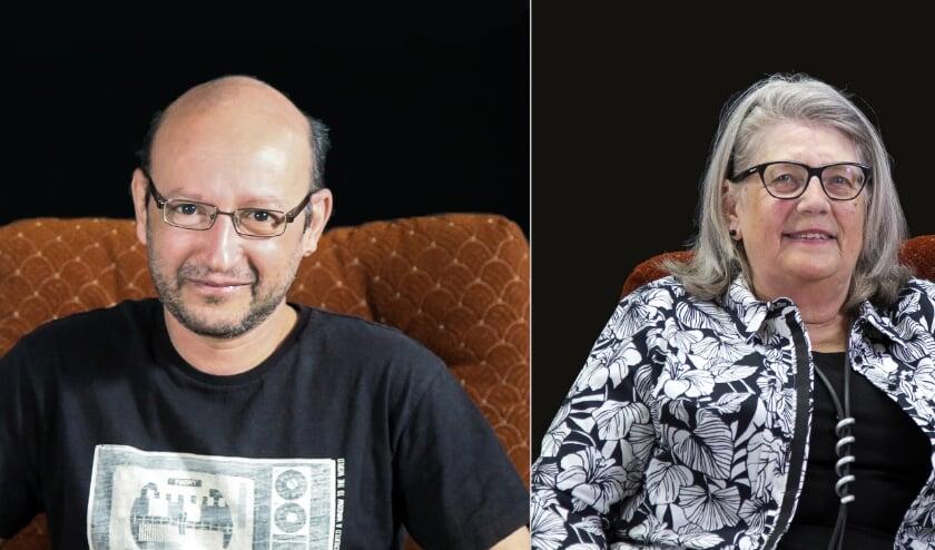 Hasan Deeb en Corrie van Buuren. (Foto: Privé)