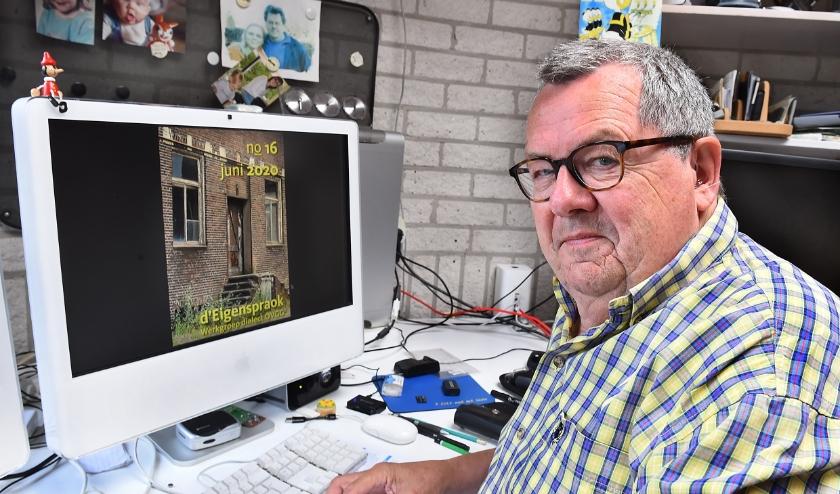 """Jan Verheijen: """"Door de taal kwamen jeugdherinneringen terug."""" (foto: Roel Kleinpenning)"""