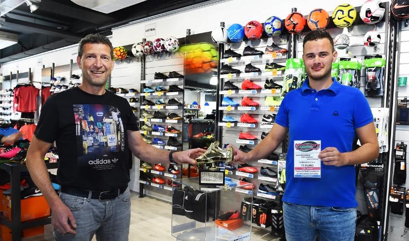 Wouter Mecking (links) en Cas Jansen.