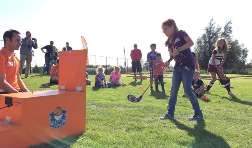 In het Funpark GOLF RAAK! kun je spelenderwijs kennismaken met de golfsport. Foto: WGA