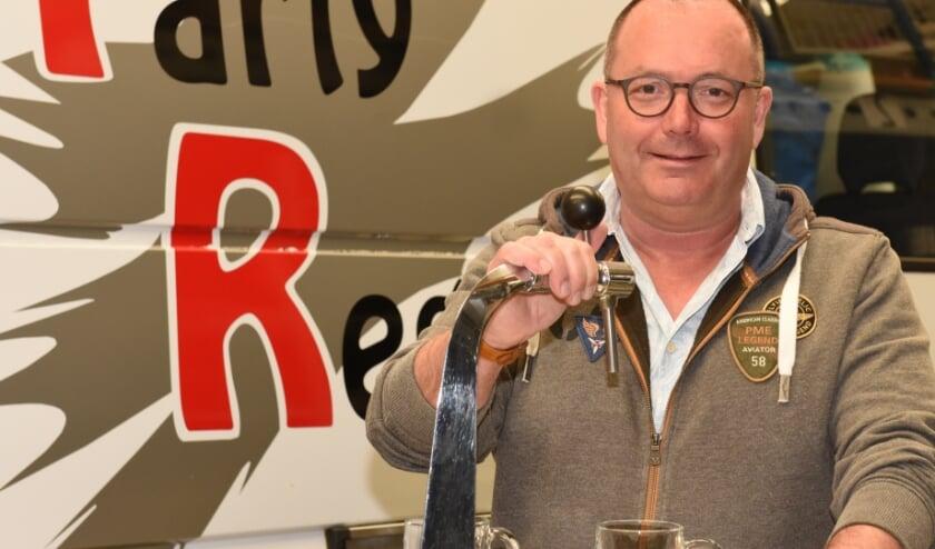 Perry Kasbergen houdt weer feestjes met zijn bedrijf Party Reegelaar. Foto: YOUDID.nl.