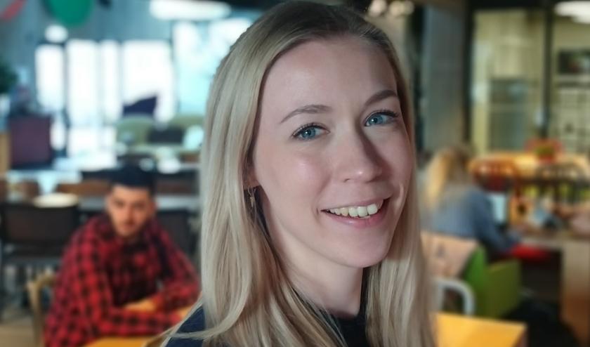 De projectleider van SmartHub, Marij Striekwold.