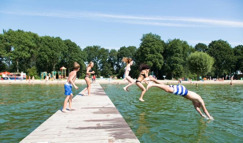 Het Strandbad is vanaf vrijdag 12 juni geopend van 9.00 tot 18.00 uur. Foto: Jacqueline van den Heuvel