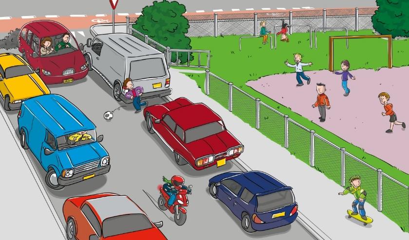 Gemeente Belangen gaat de verkeersonveiligheid rondom scholen aankaarten bij de wethouder.