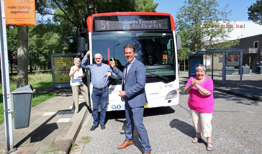 Vanaf 13 december zal er weer een bus door de Muziekbuurt rijden.