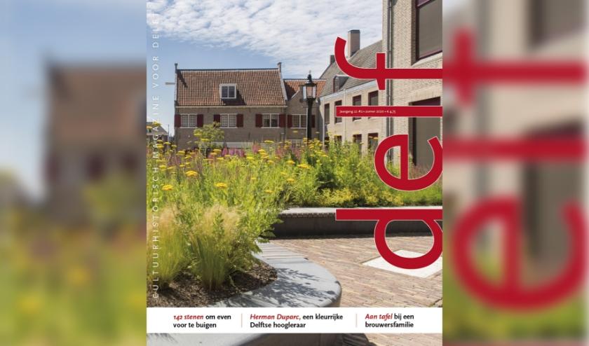 Cover van het zomernummer van Delf, te verschijnen op 6 juni 2020