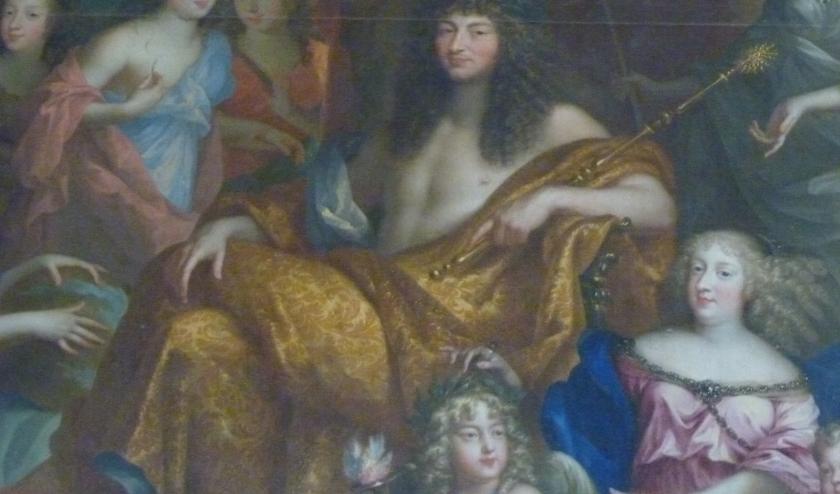 Lodewijk XIV streek in 1672 voor tien dagen neer in Zeist.