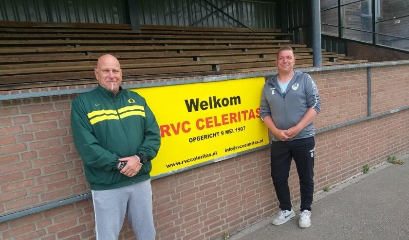 Dennis van Toorn en René Timmermans over damesvoetbal bij RVC Celeritas