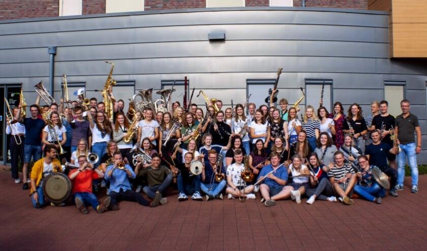 De enthousiaste deelnemers van de vorige editie van het OGJO. (foto: PR)