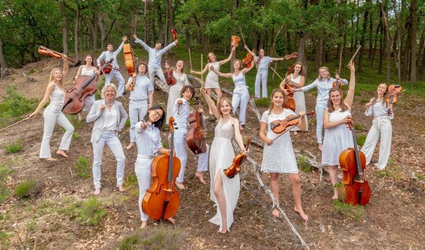 Het Britten Jeugd Strijkorkest gaat op zomertour in Oost-Nederland.