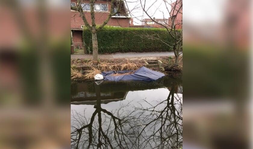 Bootwrakken zoals dit voorbeeld zullen worden verwijderd. Foto: site Gemeente Rijswijk