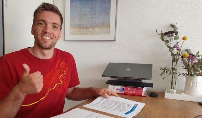 Sjoerd Hoogendoorn tekent contract Draisma Dynamo