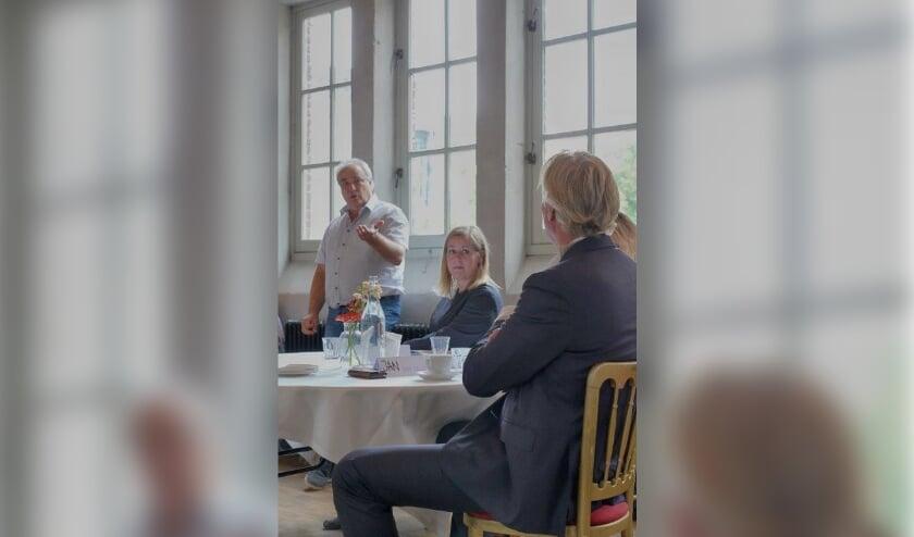 Bij de opening van het loket deed voormalig ondernemer en ervaringsdeskundige Marc Mulder zijn verhaal. Zijn oproep aan gemeenten: 'Zie de ondernemer als mens'.