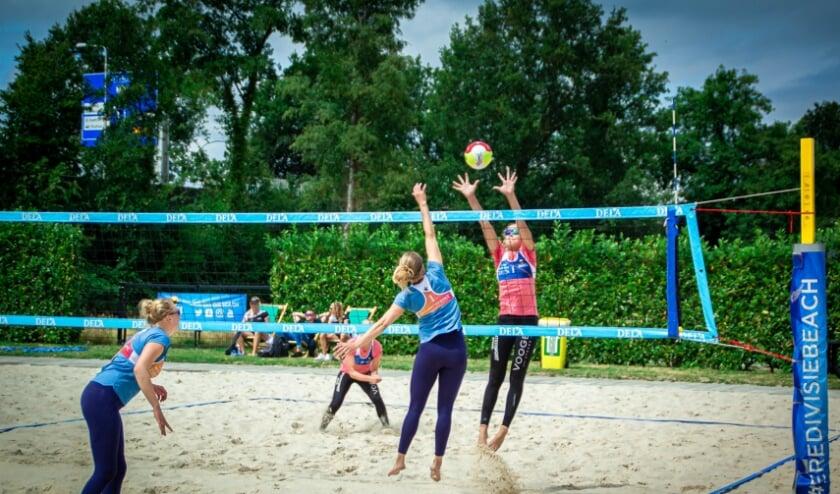 De Eredivisie Beachvolleybal komt naar Allmelo. (Foto: Janiev Damhuis)