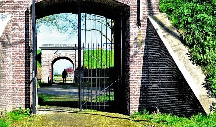 Poort Fort Wierickerschans.