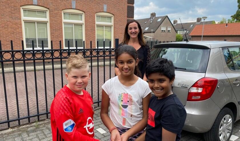 Kinderen halen geld op voor project Albrandswaard Helpt!