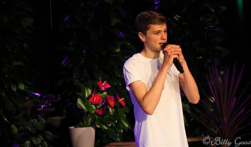Jong talent Wisse Kraaijenhof in Even genieten op HK13TV.