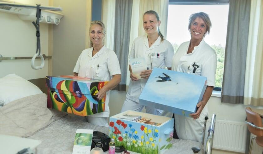 Verpleegkundigen nemen waakkoffers in gebruik in Gelre ziekenhuizen Apeldoorn