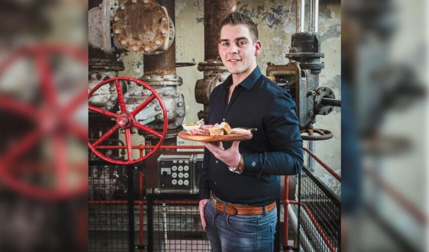 """Bedrijfsleider Ralph Gijbels van Echt Welschap in Meerhoven: """"De reacties van onze gasten spreken voor zich!"""" FOTO: Frans Claassen."""