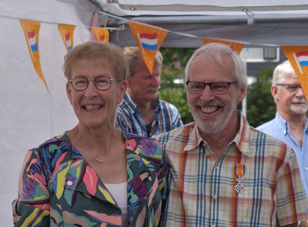 Jan Jansen met zijn vrouw Gerdie.   © DPG Media