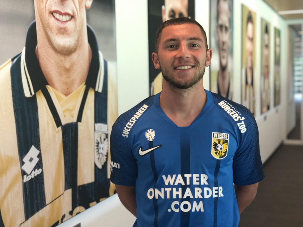 Verdediger Maximilian Wittek. Foto: Vitesse © DPG Media