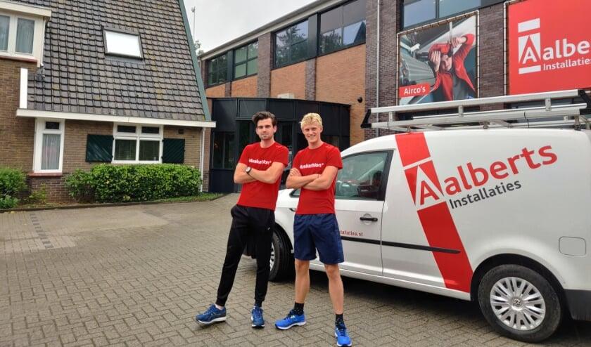 Gerrit van der Weerd (19) en Ruud Achterveld (20) uit Oene gaan volgend jaar meedoen met een zogenaamde Muskathlon in Ghana.