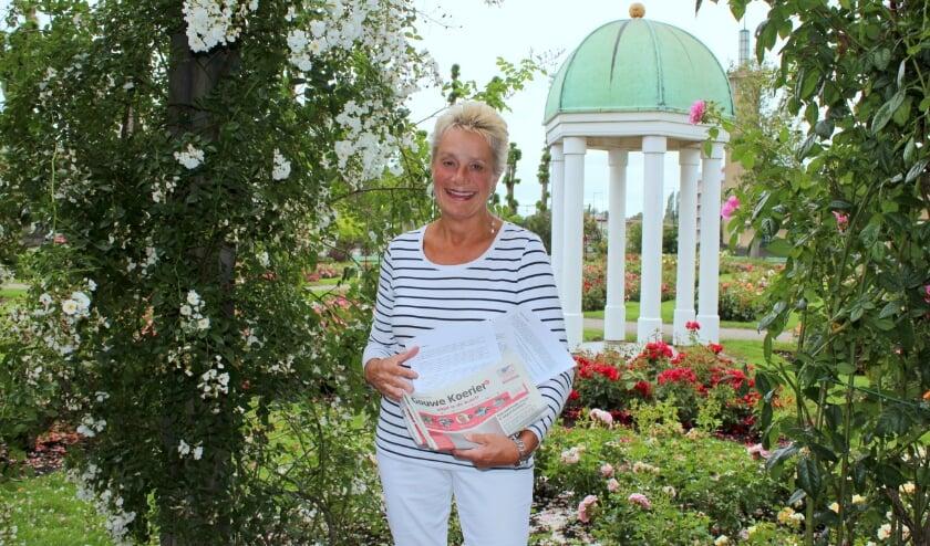 Marianne de Jong maakt mensen blij met haar 'Coronkels', verhaaltjes in coronatijd, zoals 'De magie van de heks'. FOTO: Morvenna Goudkade