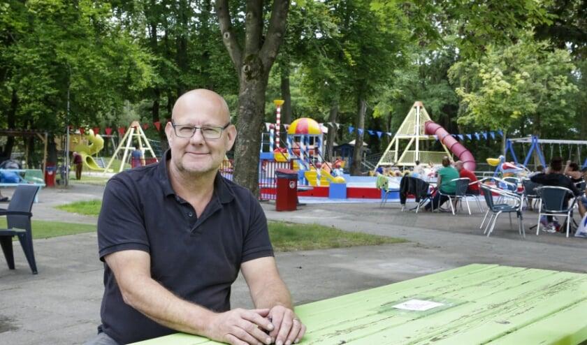 Volgens Marcel Claassens hangen er donkere wolken boven speeltuin Geenhoven. Foto: Jurgen van Hoof
