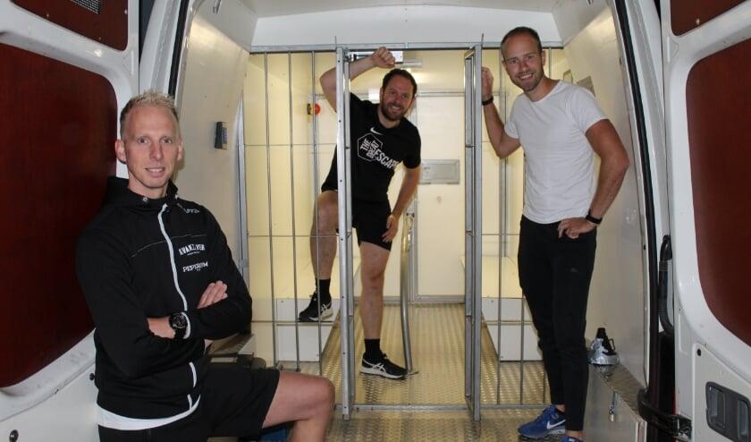 Ingmar Miedema, Johan Post en Merwin Bierlee.