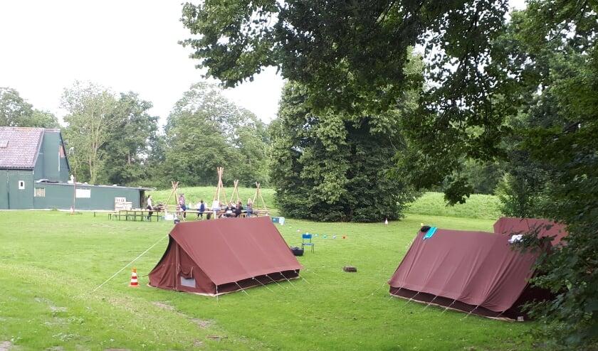 Het hoogtepunt van het Scoutingjaar, het zomerkamp, kreeg voor alle jeugdleden een creatieve invulling. Foto: Louise Mastenbroek