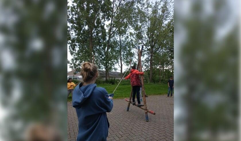 De leden van Scouting Woerden gaan in de eerste week van de schoolvakantie op 'Zomerdagen in eigen stad'.