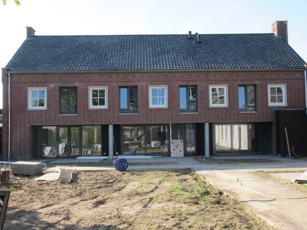 Alle woningen zijn in de afgelopen opgeleverd en zullen snel in gebruik worden genomen.  Foto:  © DPG Media