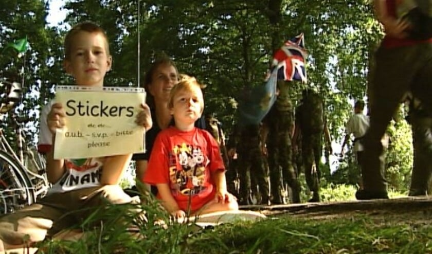Sfeerbeeld Vierdaagse 2003.