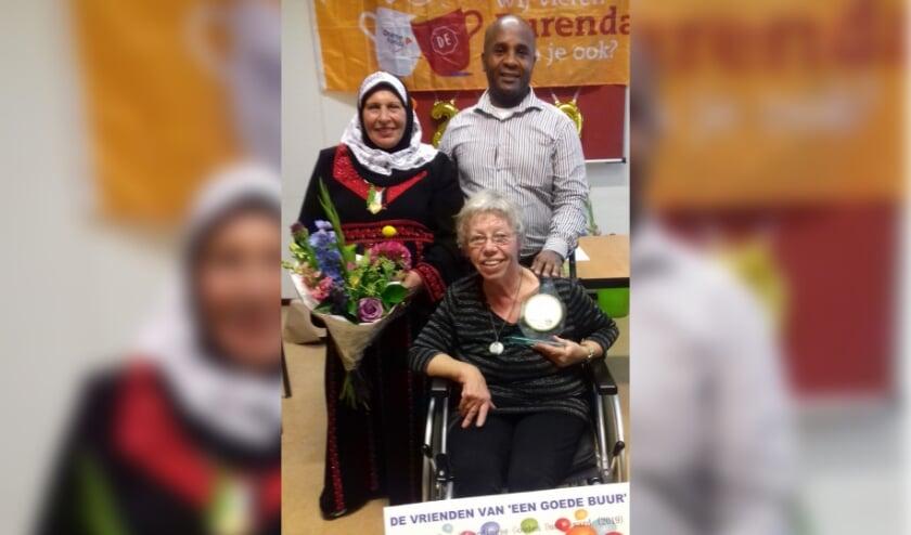 Betty van der Bilt uitgeroepen tot winnaar