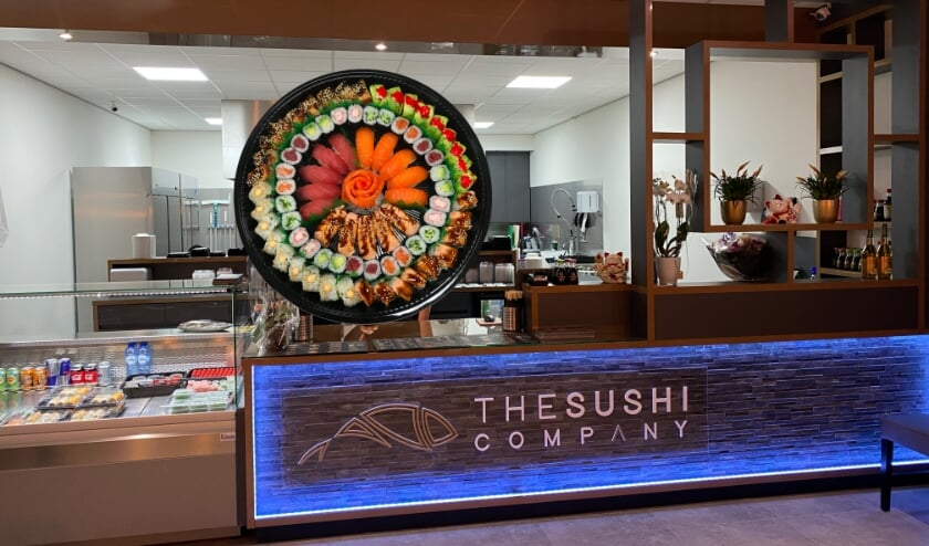 De naam The Sushi Company draagt vanaf augustus vier filialen: in Dommelen, Nuenen, Veldhoven en Oisterwijk.