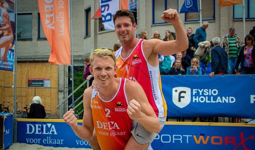 In het weekend van zaterdag 8 en zondag 9 komt de DELA Eredivisie Beachtour alsnog naar Almelo (Foto: Janiev Damhuis)