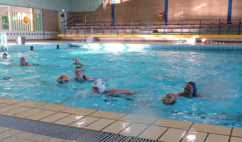 Training Woelwaters Dames 1. (foto: Sylvie Zuidam)