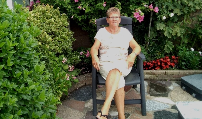 """Anneke de Witte: """"Ik ben met pensioen en heb tijd over. Dan is het toch heel vanzelfsprekend dat je wat voor een ander doet?"""". TEKST EN FOTO: WELZIJN MIDDELBURG."""