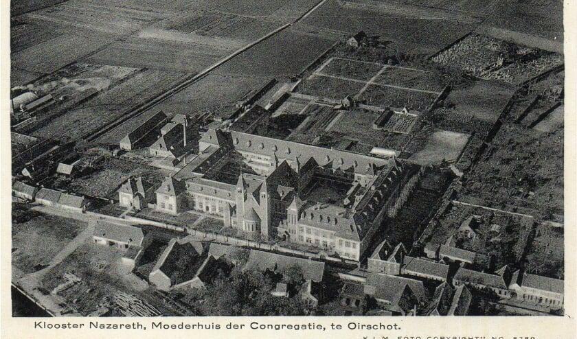 Luchtfoto klooster nazarecht oirschot