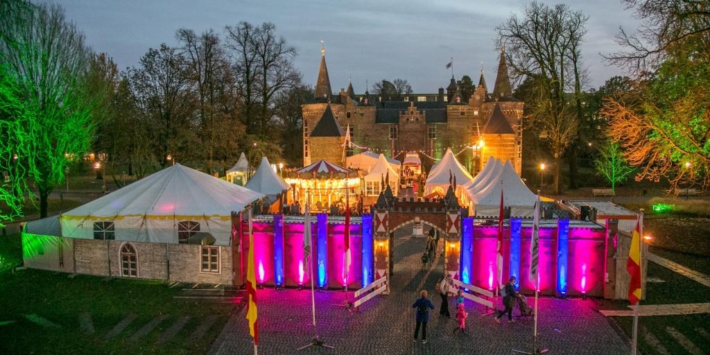 Het Kasteel van Sinterklaas in Helmond.  Foto: Jan Dijstelbloem © DPG Media