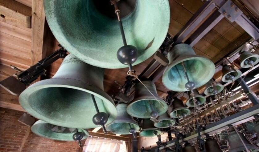 Deze maand zijn er weer zomerconcerten met gastbeiaardiers. Foto: Carillon Woerden
