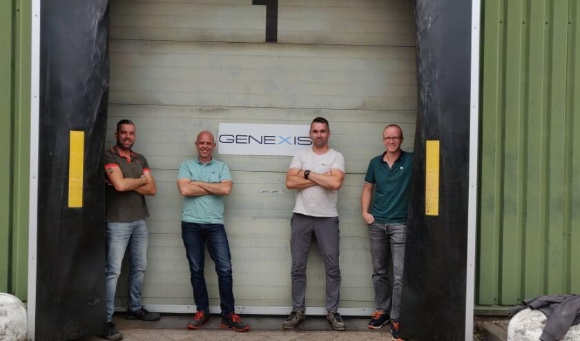 Daniel, Jurian, Mike en Gareth starten een sponsorloop om geld op te halen voor Stichting Kansarme Kinderen.